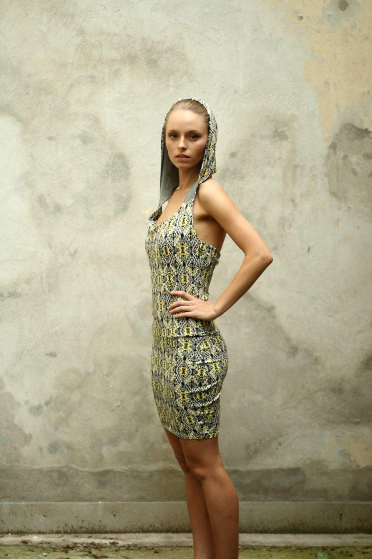 Neckholder Kleid, Slowfashion, fairmade
