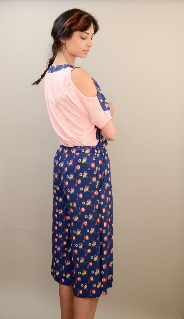 Culottes blau