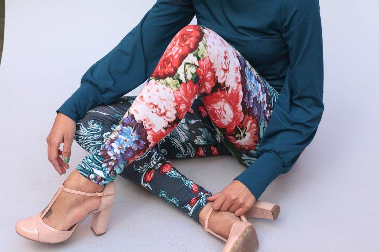 """Legging """"peonies"""""""
