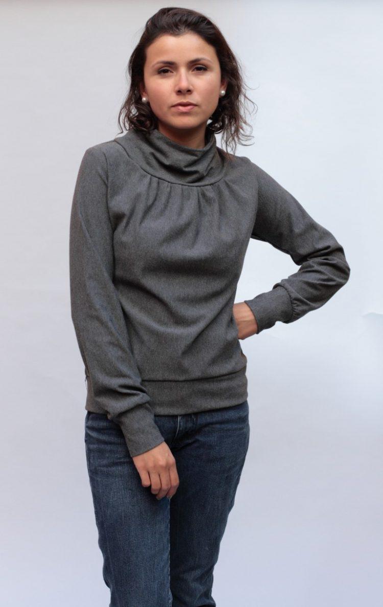 Stehkragen Pullover Birte