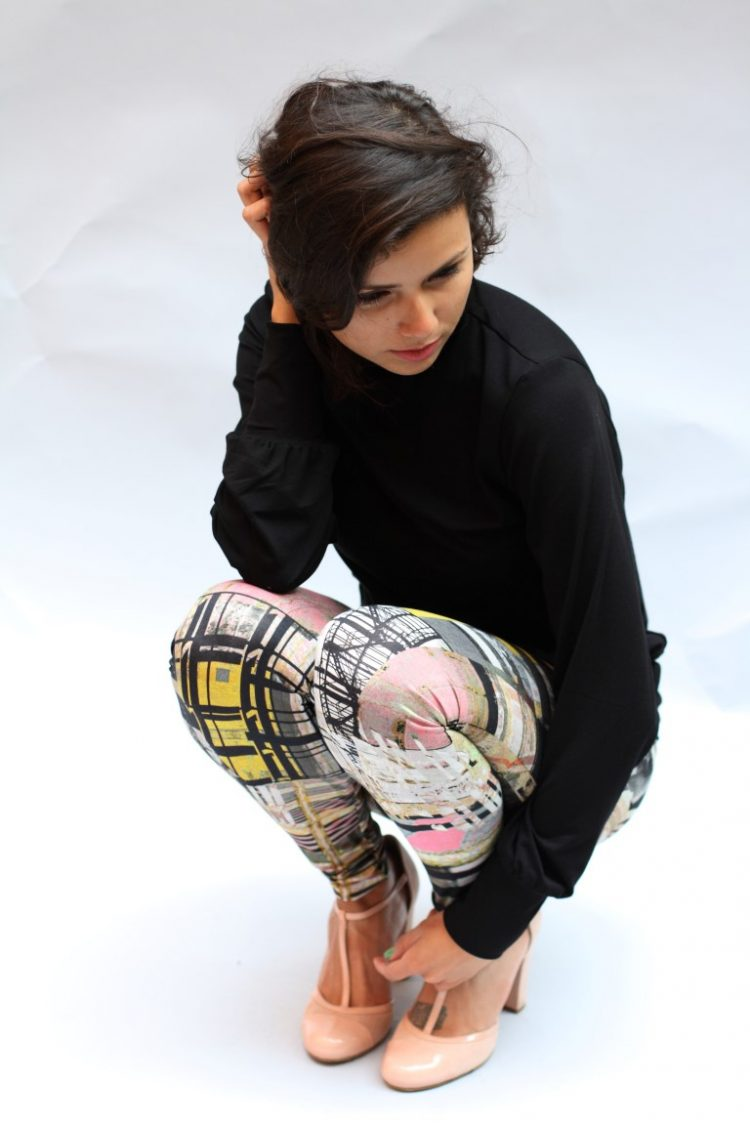 Legging geometric