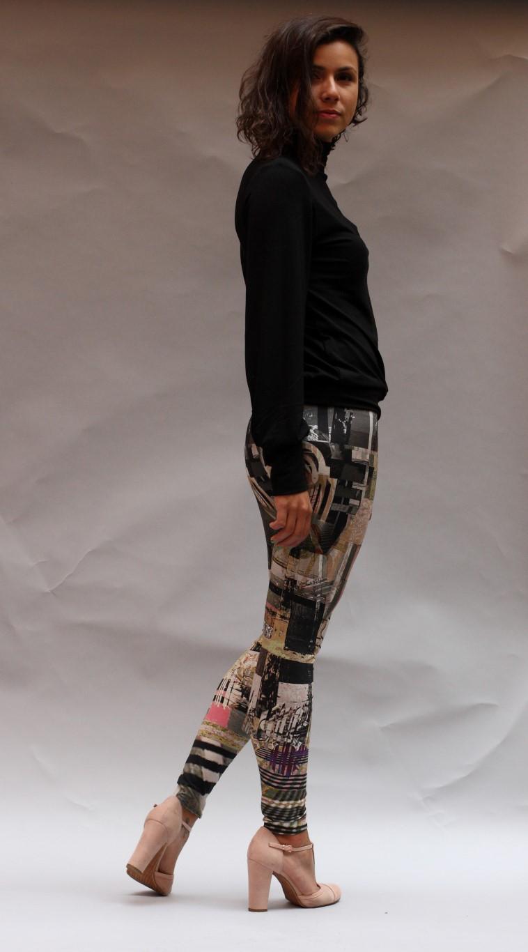 Legging geometric