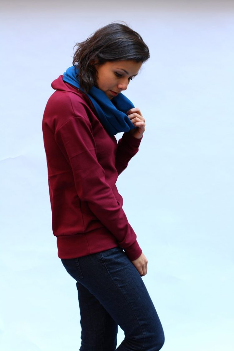 Jumper bordeaux (Medium)