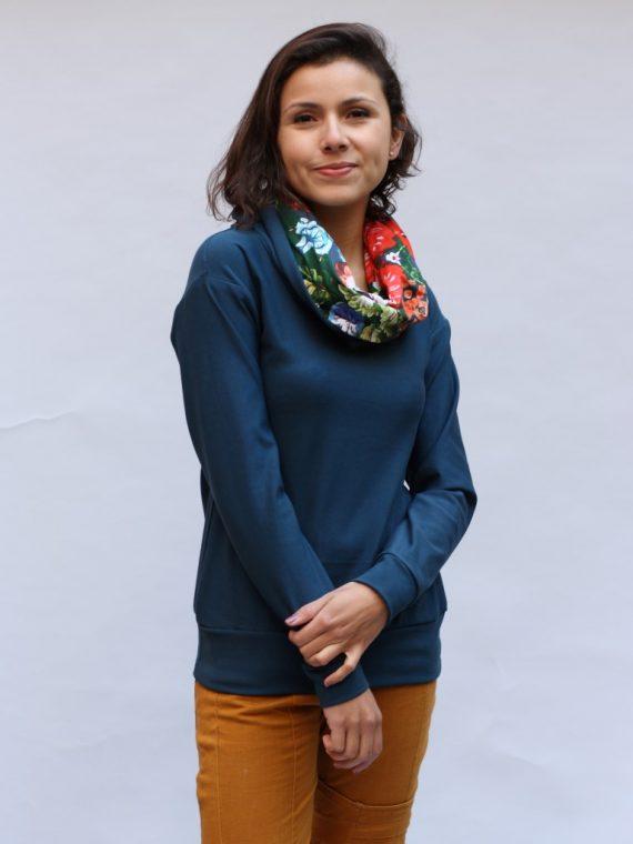 Pullover Blumen