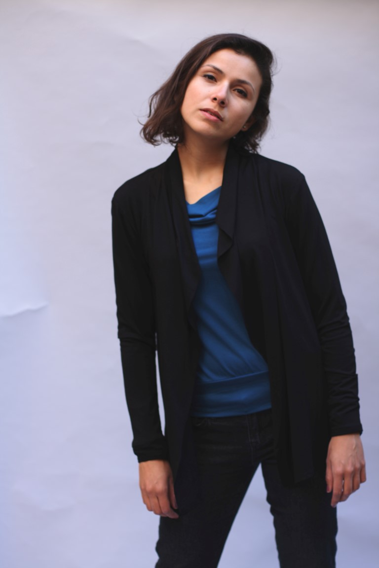 cardigan schwarz