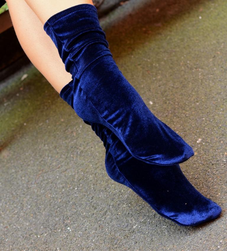velvet socks