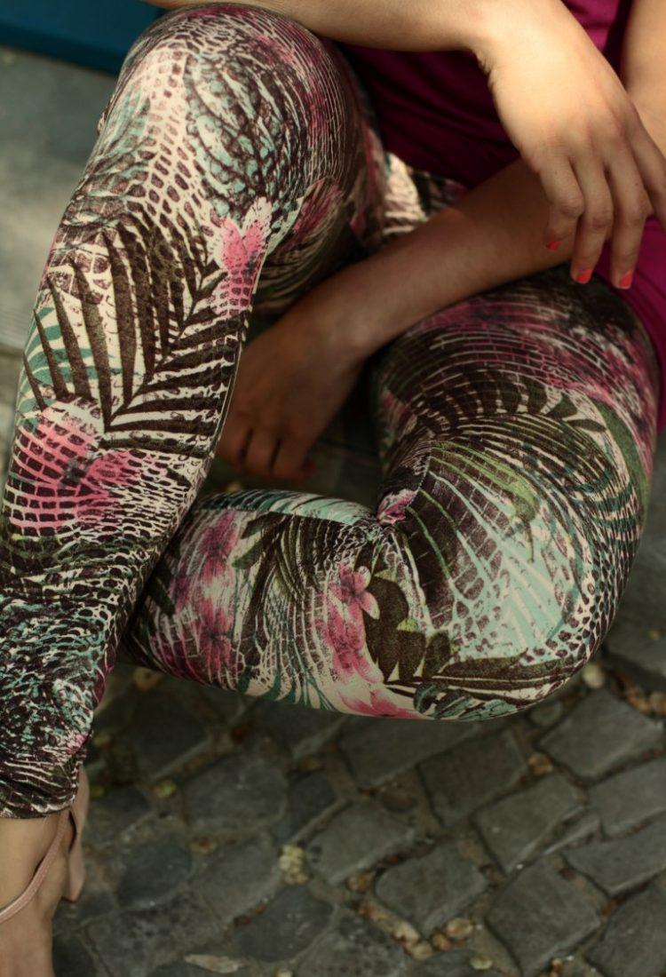 Legging Tropical