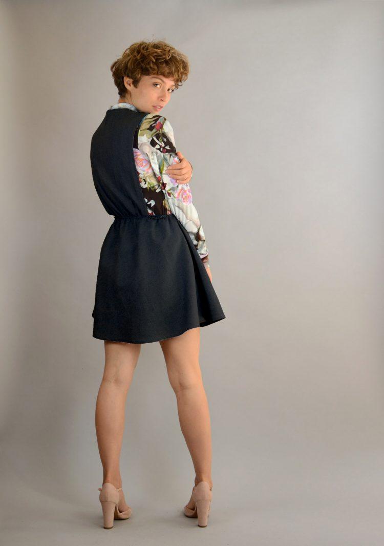 Lach kleid schwarz 2 medium