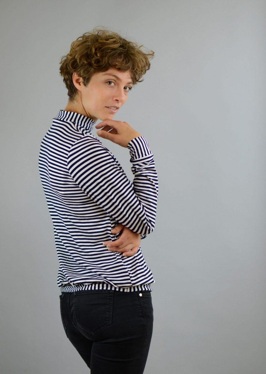 Streifen Pullover