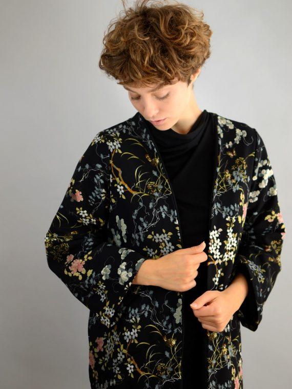 lange kimono jacke