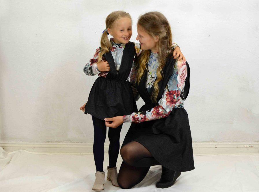Kinder Kleid schwarz