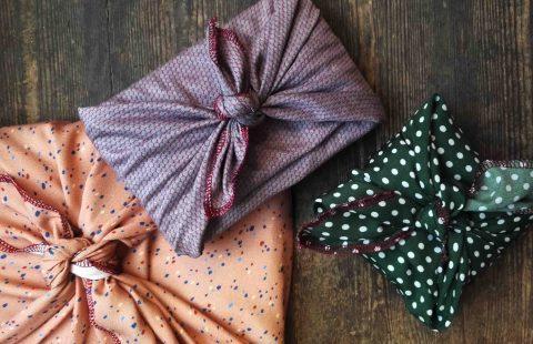 Nachhaltig Verpacken – Furoshiki