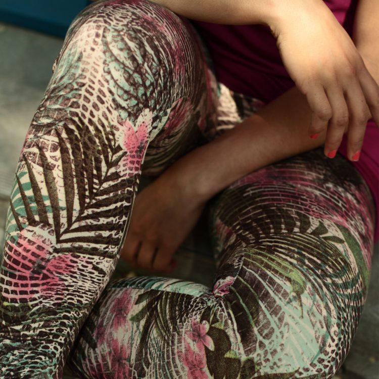 Leggings Tropical3