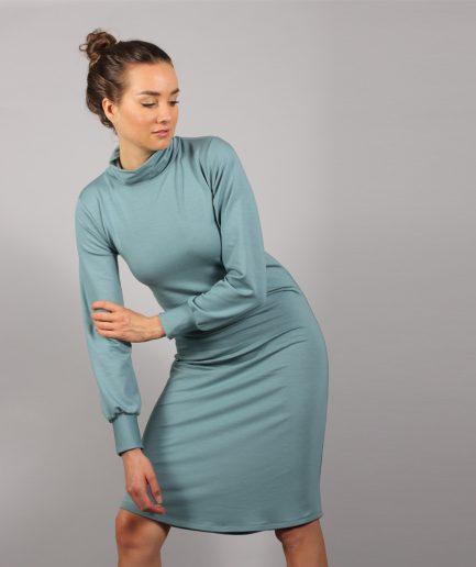 Midi Turtleneck Kleid
