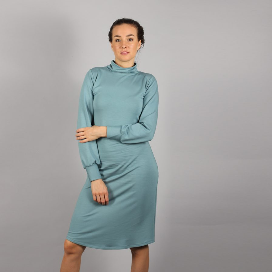 Midi Turtleneck Kleid