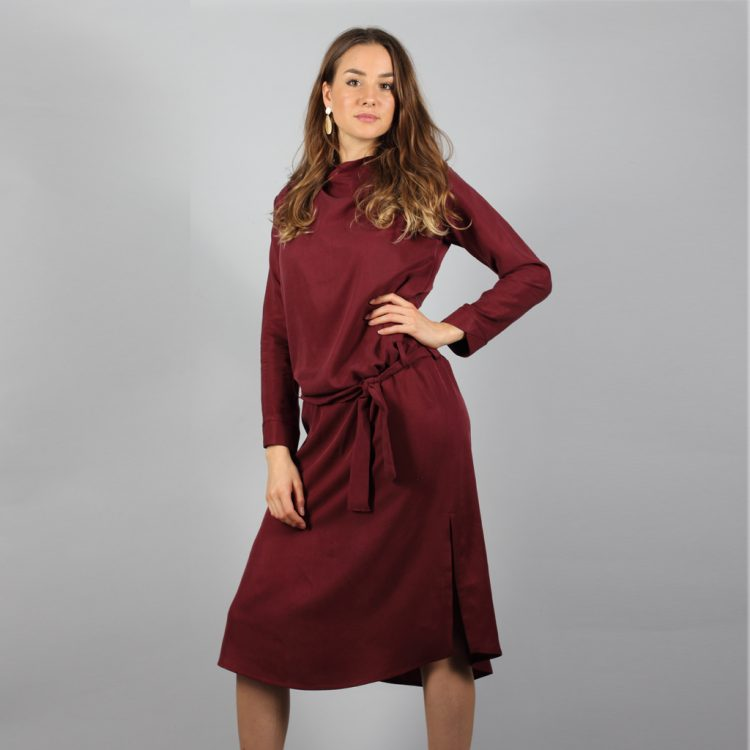 Tencel_bordeaux