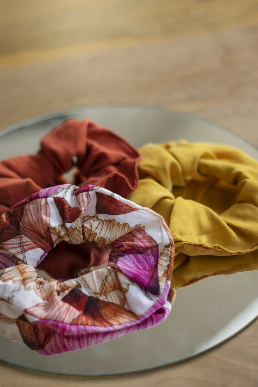 floraler scrunchie